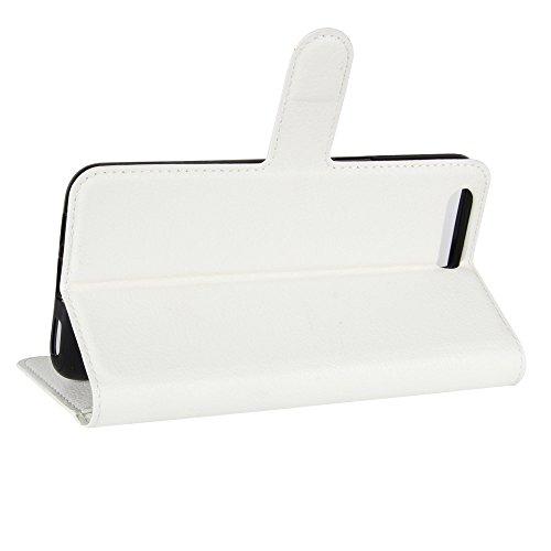 blanc Carte Cover Blanc Oneplus Supporter A5000 Coque 5 Nadakin Crédit Portefeuille Case A5000 Cuir Housse Étui Pour De Wallet Flip Poche Pu Avec Fentes Bqazgx
