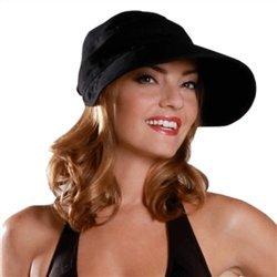 physician-endorsed-womens-naples-black-cotton-cap-visor