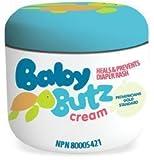 Baby Butz - 100% Natural Diaper Rash Cream - 4oz by Baby Butz Cream