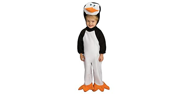 Amazon.com: Los pingüinos de Madagascar Romper y Headpiece ...