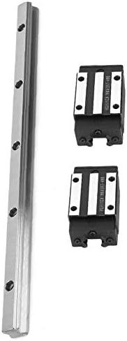 LSS-MDS Linearführungsschiene, HGR20-300mm Führungsschiene mit 2 Stück Wagen Lagerbock-Slider for Textilmaschinen Druckmaschinen Electric Equipment