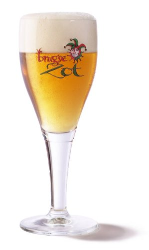 Brugse Zot Beer Chalice Glass