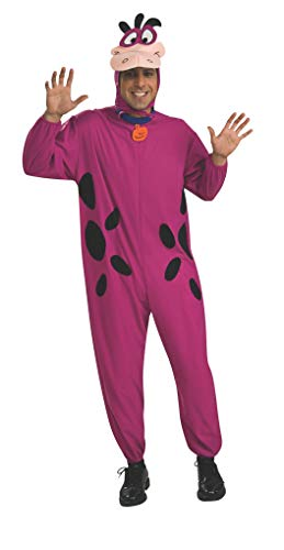 Rubie's Costume Co. Men's The Flintstone's Dino The Dinosaur Adult Costume, Purple, One Size, -