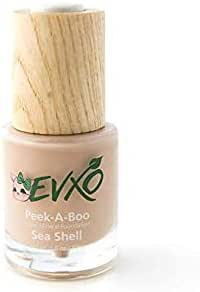 EVXO Organic Liquid Mineral Foundation - Vegan, All Natural, Gluten Free, Aloe Based, Buildable Coverage, Cruelty Free Foundation Makeup - 1 Fl Oz (Sea Shell)