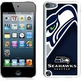Seattle Seahawks 07 White Shell Case for iPod Touch 5,Unique Cover