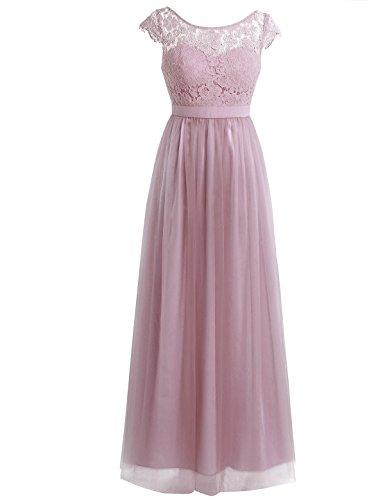 Asymmetrical Floral Prom Dress - 8