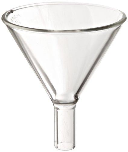 (Corning Pyrex 6220-100 Borosilicate Glass Powder Funnel, 100mm Diameter (Pack of 6))