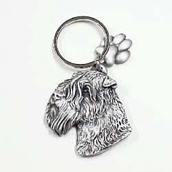 Wheaten Terrier Keychain by Karas and Rocha Marketing