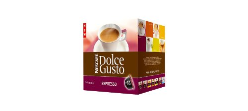 Krups Espresso Pods - Dolce Gusto Espresso Coffee Capsules For The Dolce Gusto Machine By Nescafe