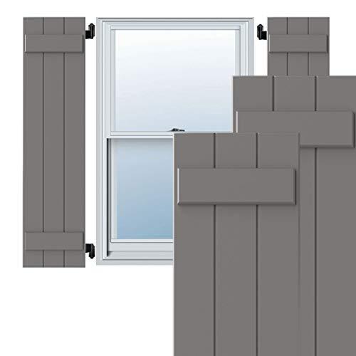 Ekena Millwork CWB12X055PRC Exterior Three Board