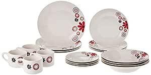 20 Piece Dinnerware Set, Assorted Design