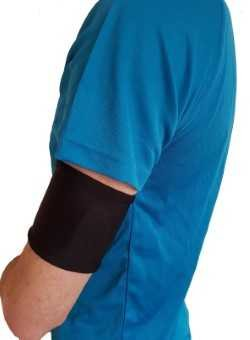 CMV Freestyle Libre Armband (Black) - Compatible with Dexcom