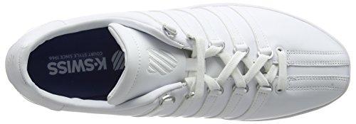 K-Swiss Classic Vn - Zapatillas de deporte para hombre Blanco - White (White/White)