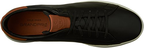 Cole Haan Heren Grandpro Tennis Fashion Sneaker Black / British Tan