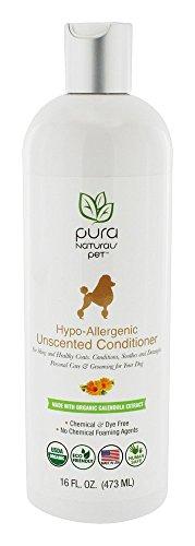 Hypo-Allergenic Dog Conditioner by Pura Naturals Pet