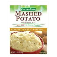 Concord foods Mashed Potato Garlic & Herb Seasoning Mix, 1.27 OZ Pouch