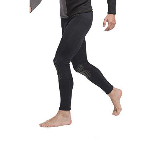 SANANG Herren Surfen Neoprenanzug Hose 3MM Neopren Tauchen Hautausschlag Schutzhosen Anti-UV schützen Badeanzug Anti-Jellyfish Schnorcheln Trunks