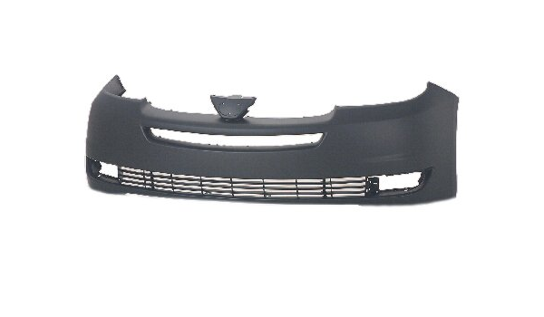 Partslink Number TO1000219 OE Replacement Toyota Sienna Front Bumper Cover