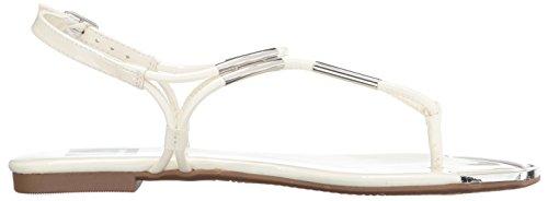 Dolce Vita Women's Marly Flat Sandal Ivory jll7oEIp