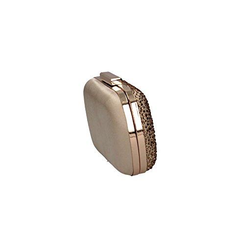 Ikaros BB2710ORO Pochette Mujer Oro