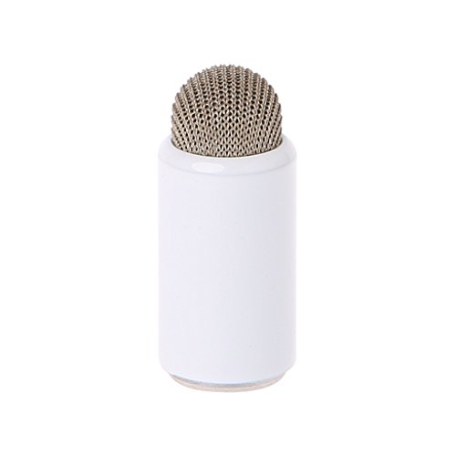 RingBuu 1 PC Stylus Pencil Tip Pen Cap Conductive Cloth Nib Replacement for Apple Pencil (White) ()