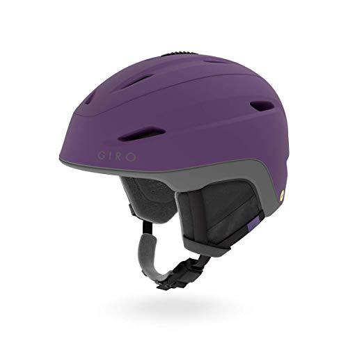 Giro Strata MIPS Womens Snow Helmet Matte Dusty Purple/Charcoal MD 55.5-59cm