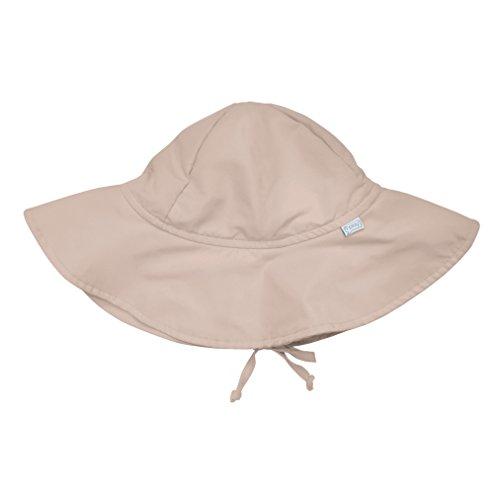 i play. Baby Brim Sun Protection Hat, Khaki, 6-18 (Brim Khaki)