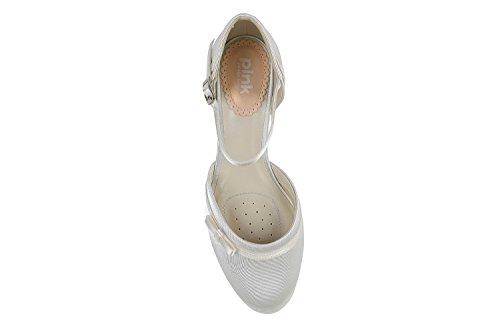 mariage chaussures Bow Pink talon Buttercup Ivoire London Paradox de détail Partie milieu deux ZRqwO8nv