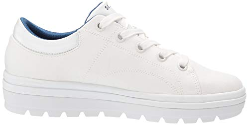 Back Skechers It Cleat Street Donna Sneaker bring Bianco qrwIrSCvx