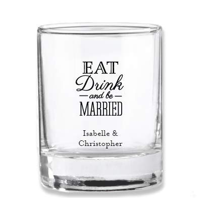 Votive Printed Cups - Personalized Wedding