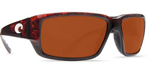 Costa Del Mar Fantail Sunglasses, Tortoise, Copper 580 Plastic Lens from Costa Del Mar