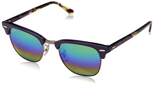 Ray-Ban Men's Clubmaster Square Sunglasses, METALLIC MEDIUM BRONZE, 51 mm