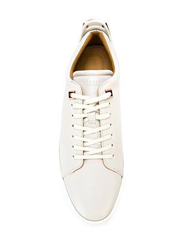Buscemi Mænds 118sm053lc010f0002 Hvide Læder Sneakers hEHmWdfn