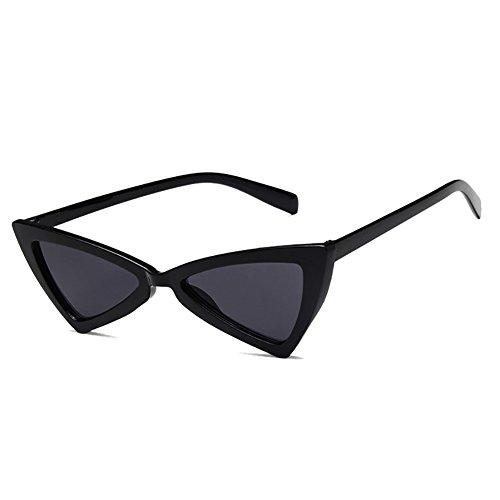 Chat gris Noir Forme Eye Plein de Non Fumés Verres Yeux Triangulaire Cat Soleil de Lunettes à Lunettes iShine Monture Cadre Polarisantes xgwHq7RpH
