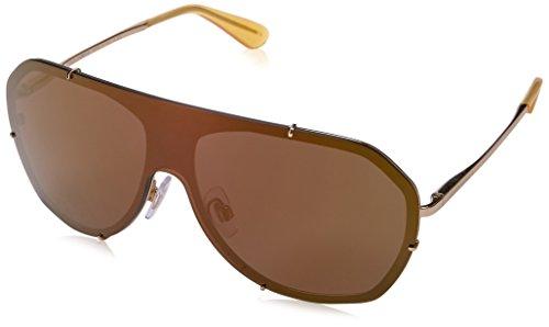 Dolce & Gabbana Uv Protection Sunglasses (Dolce & Gabbana Women's Metal Woman Aviator Sunglasses, Gold, 37 mm)