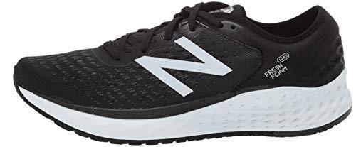 993874c1b8189 New Balance Men's 1080v9 Fresh Foam Running Shoe, Black/White, 11 D US