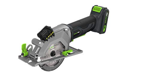 Circular Saw, GALAXIA 20V 3400RPM 4-1/2″ Professional Corded Circular Saw with Laser Guide, Rip Guide, Vacuum Adapter, 2Pcs Blades plus 1 Allen Wrench, Max Cutting Depth 1-11/16″(90°), 1-1/8″(45°)