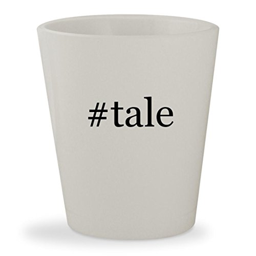 #tale - White Hashtag Ceramic 1.5oz Shot - Foxwoods Kids With