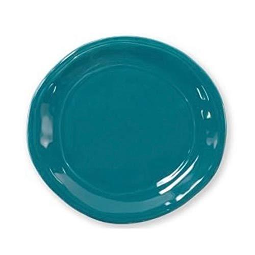 Verde Glaze Ceramic - Viva Fresh Teal Salad Plate