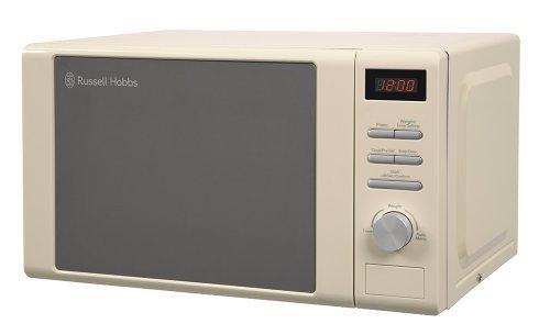 Russell Hobbs RHM2064C Digital Microwave, 20 Litre - Cream by Russell Hobbs