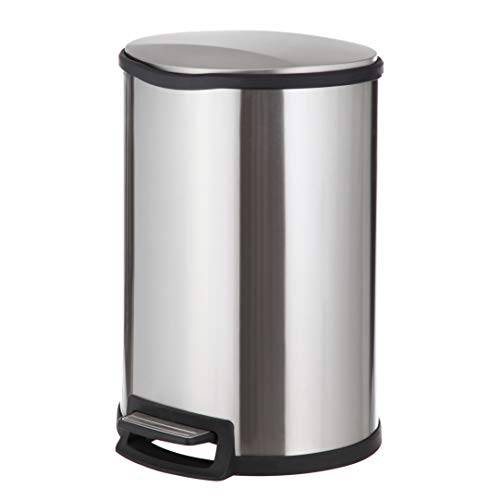 45l stainless steel trash can - 7