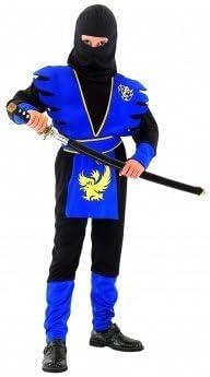 Desconocido Disfraz azul de ninja para niño: Amazon.es: Juguetes y ...