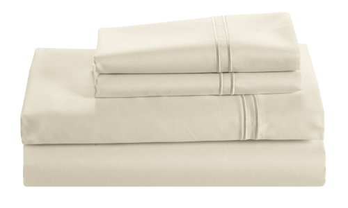 Cuddledown 400 Thread Count Sateen Fitted Sheet Full
