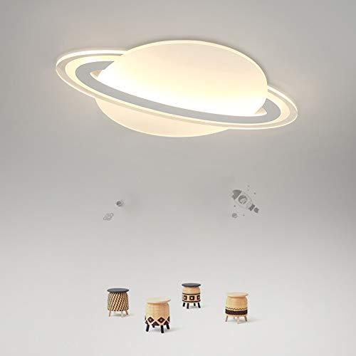 Creative LED Flush Mount Ceiling Light, JIANGXIN Acrylic Chandeliers Globe Shape Lighting for Living Room Bedroom Kids Room (Color: Warm Light, Size: 45X45X30cm)