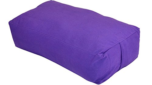 YogaAccessories MAXSupport Deluxe Rectangular Cotton Yoga Bolster – Sports Center Store