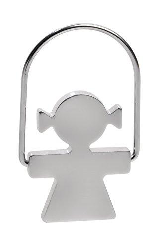 - Alessi Aleesi AKK44 W Girotondo Woman Key Ring, Silver