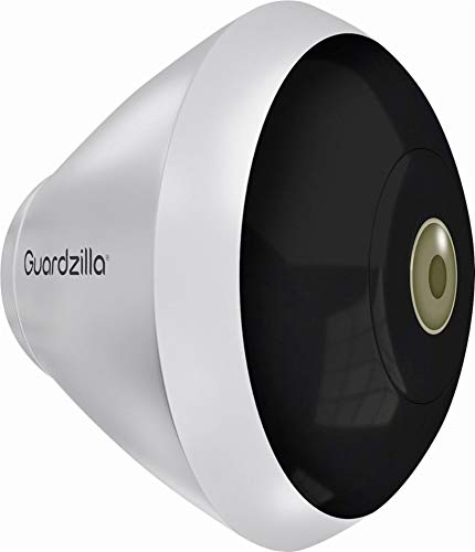 Weather Resistant Night Vision - Guardzilla Outdoor 360 Panoramic HD WiFi Security Camera with Night Vision, Motion Detection, and Weather Resistant