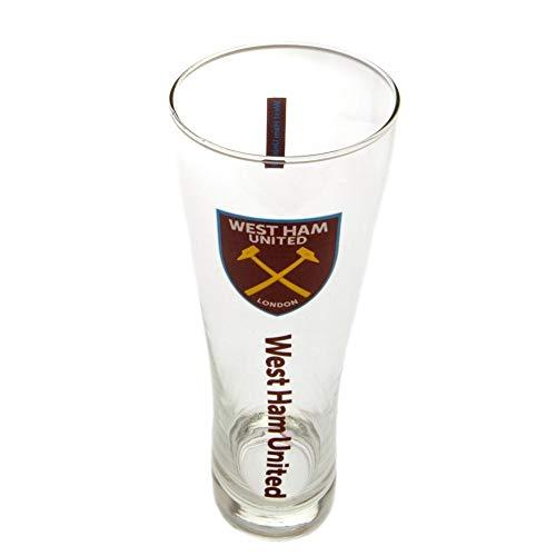 Amazon.com: West Ham United FC - Vaso de cerveza alto, talla ...