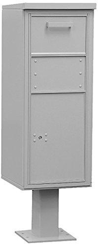 Salsbury Industries 3475 GRY Pedestalコレクションボックス、トール、グレー B00CLVGRHQ