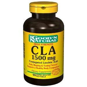 Good N Natural - CLA 1500 mg - 90 Softgel